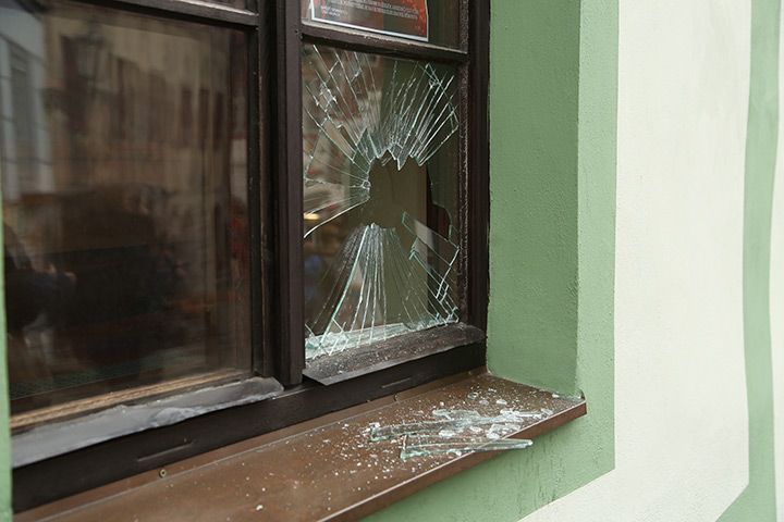 A2B Glass are able to board up broken windows while they are being repaired in Orpington.